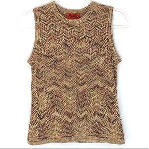 Missoni for Target sleeveless sweater small